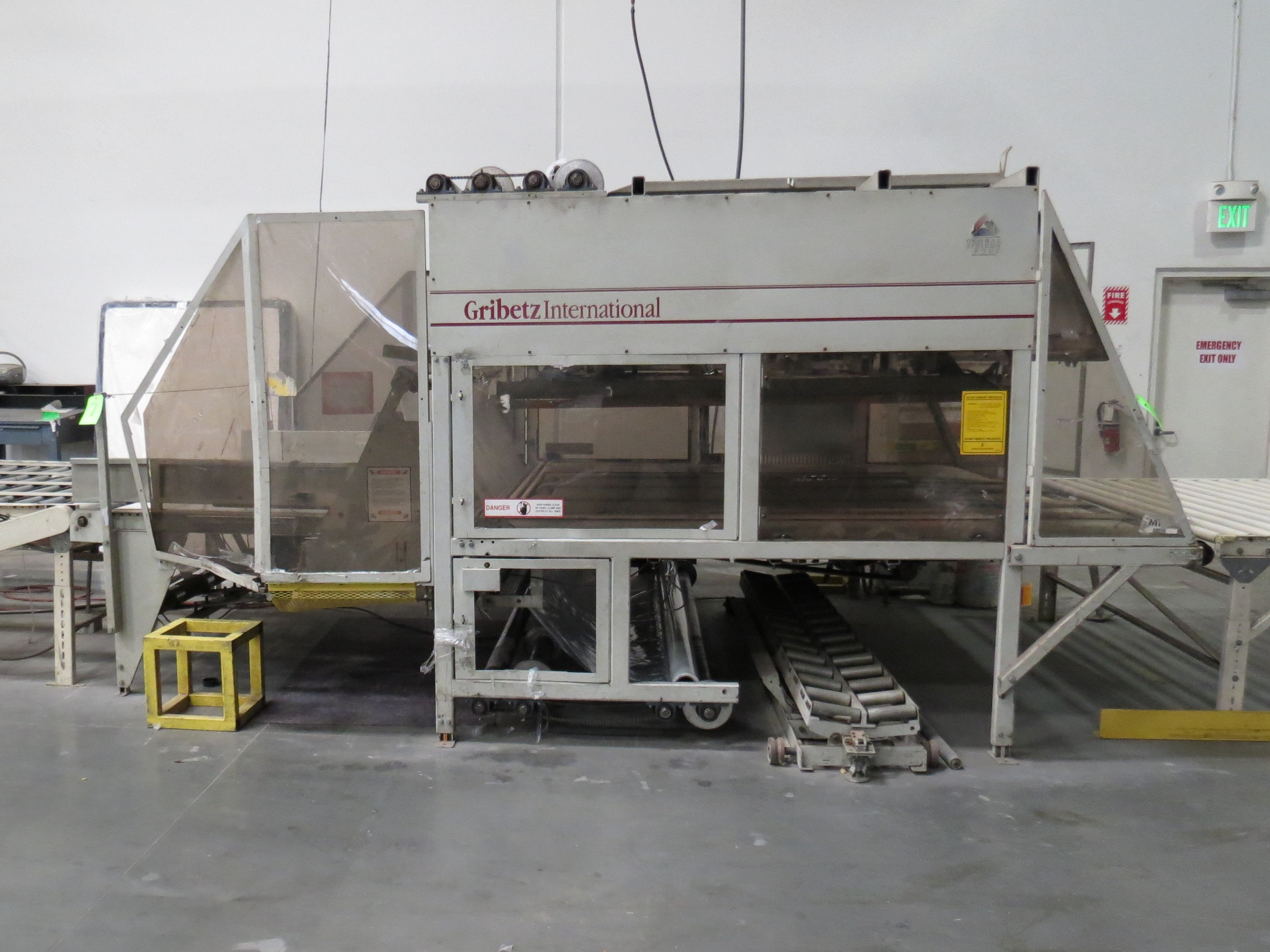 "Gribetz Bagging Machine W/ 10"" infeed & 50' Outfeed Motorized Conveyor System"