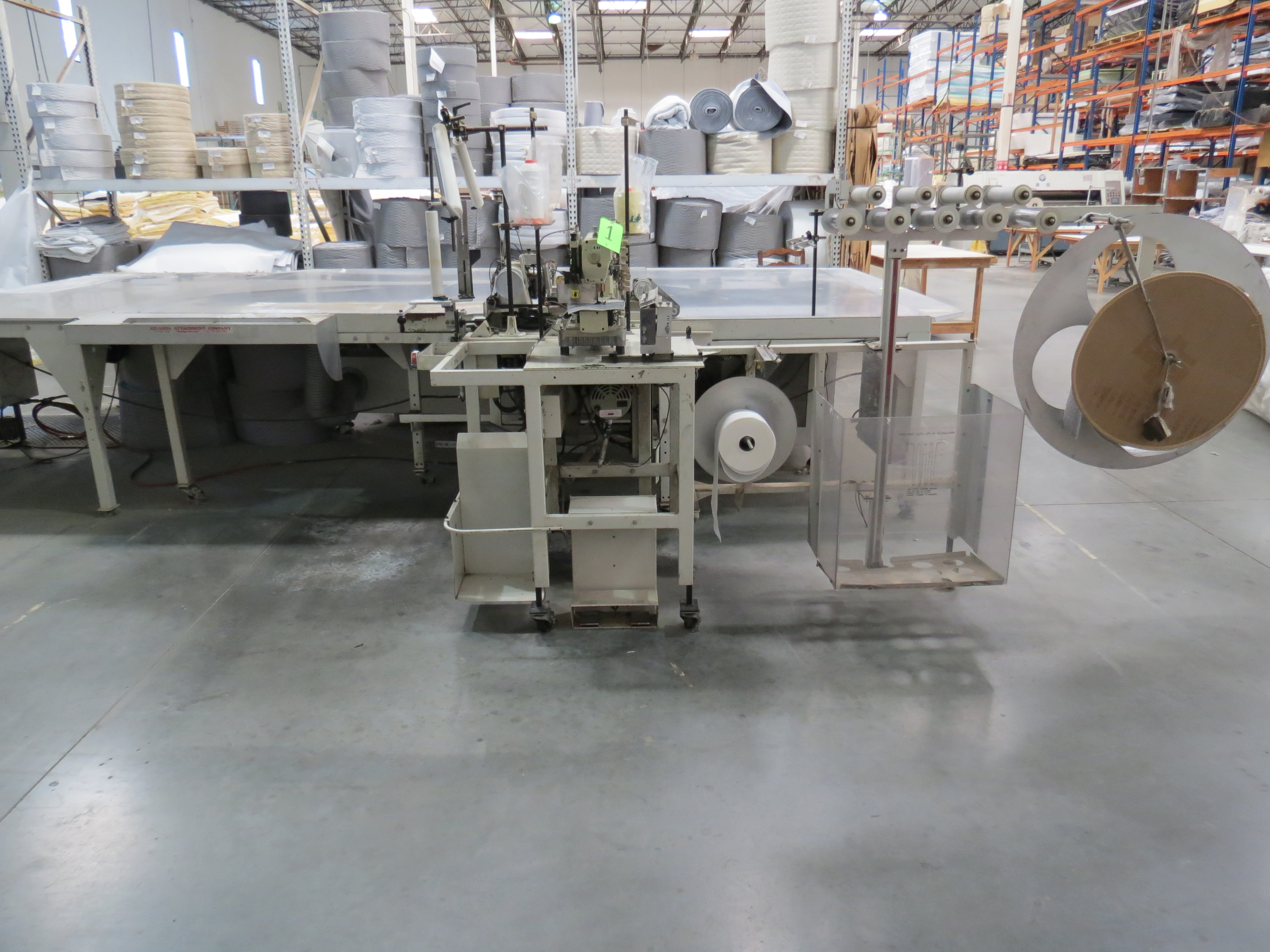 Atlanta Attachment Company VM1804P-NG-002 Gusset Sewing Machine with Flotation Table 8' x 13' - Image 2 of 8