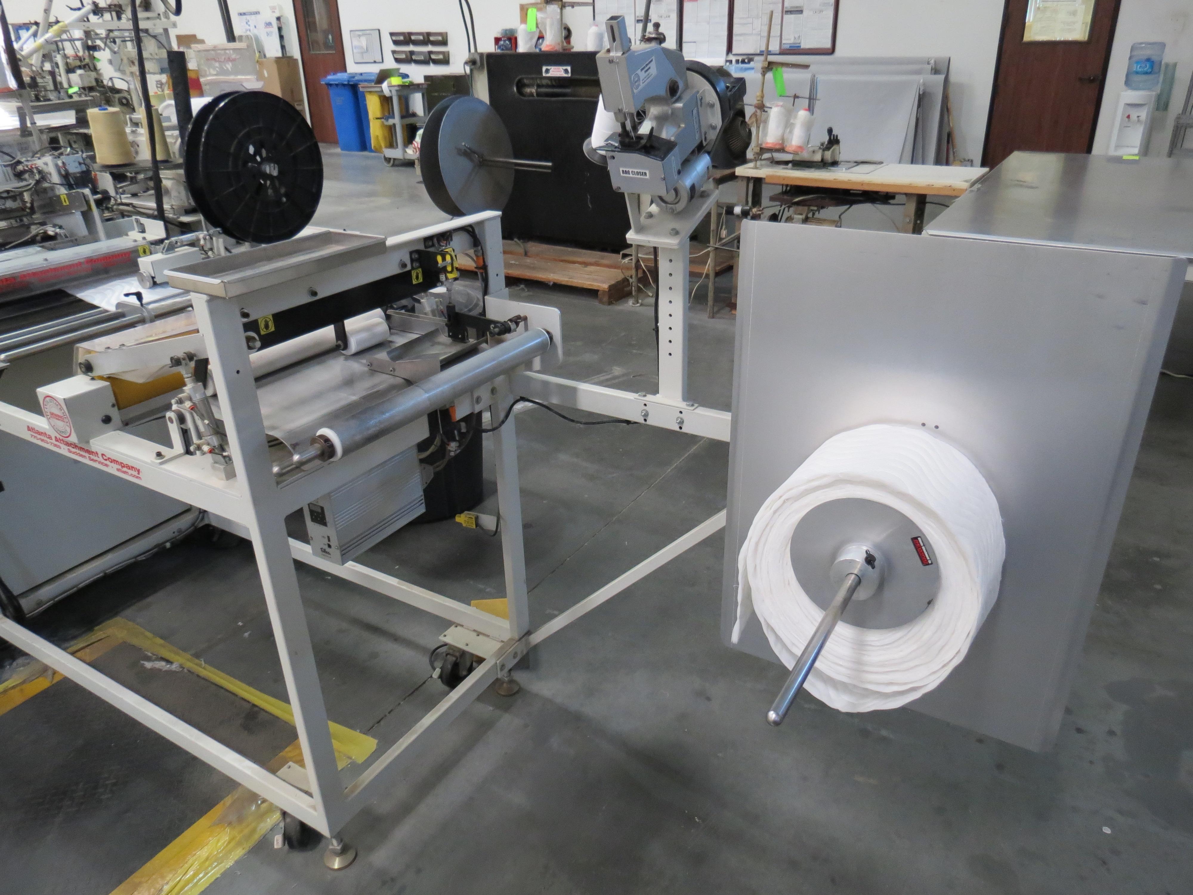 Atlanta Attachment Company, 4300BBorder/Attach Handles Sewing Machine, 220V, SN:209227071609, Juki - Image 10 of 11