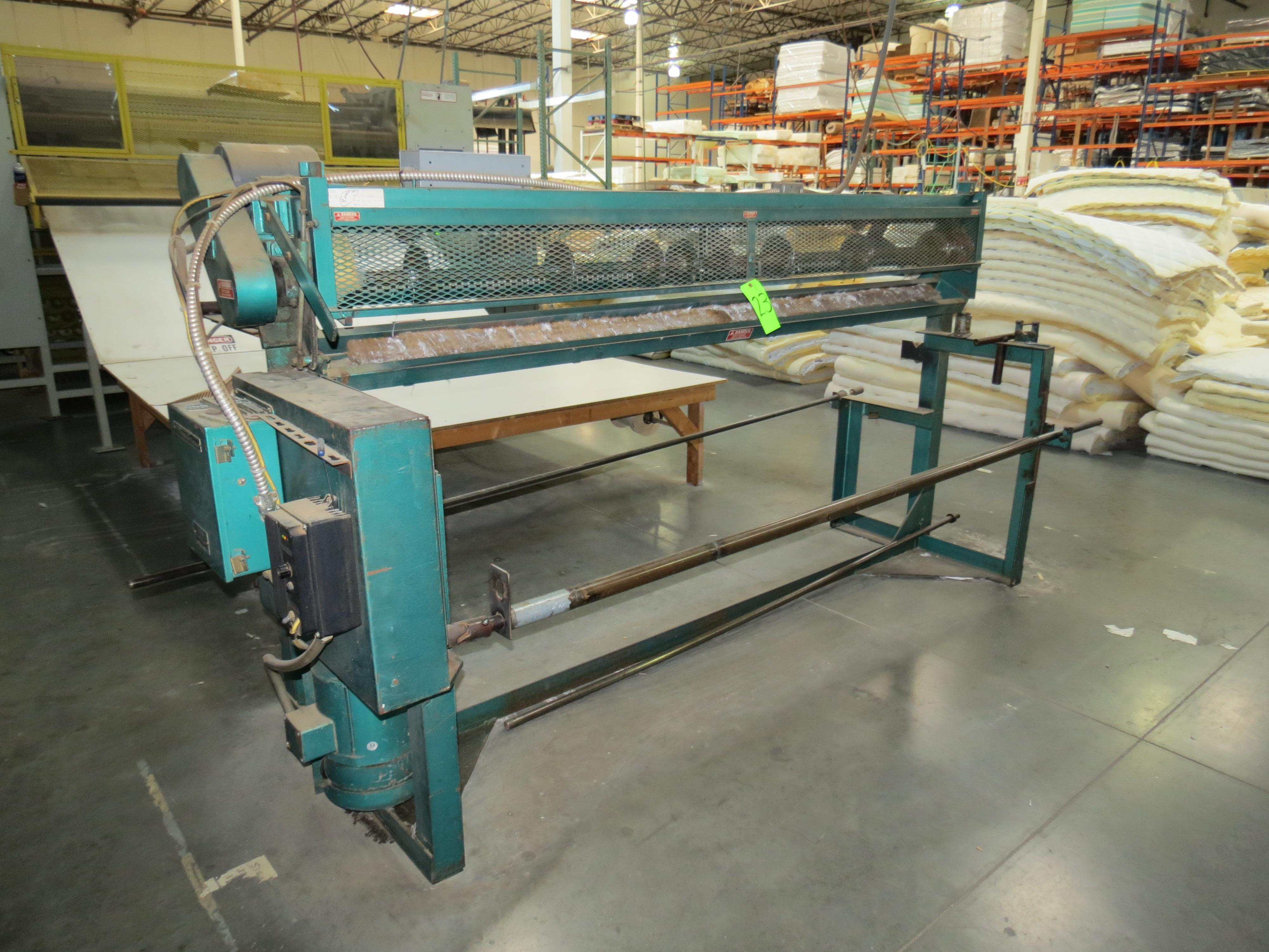 Anderson Machine MS3 Slitter, 110V, SN:127