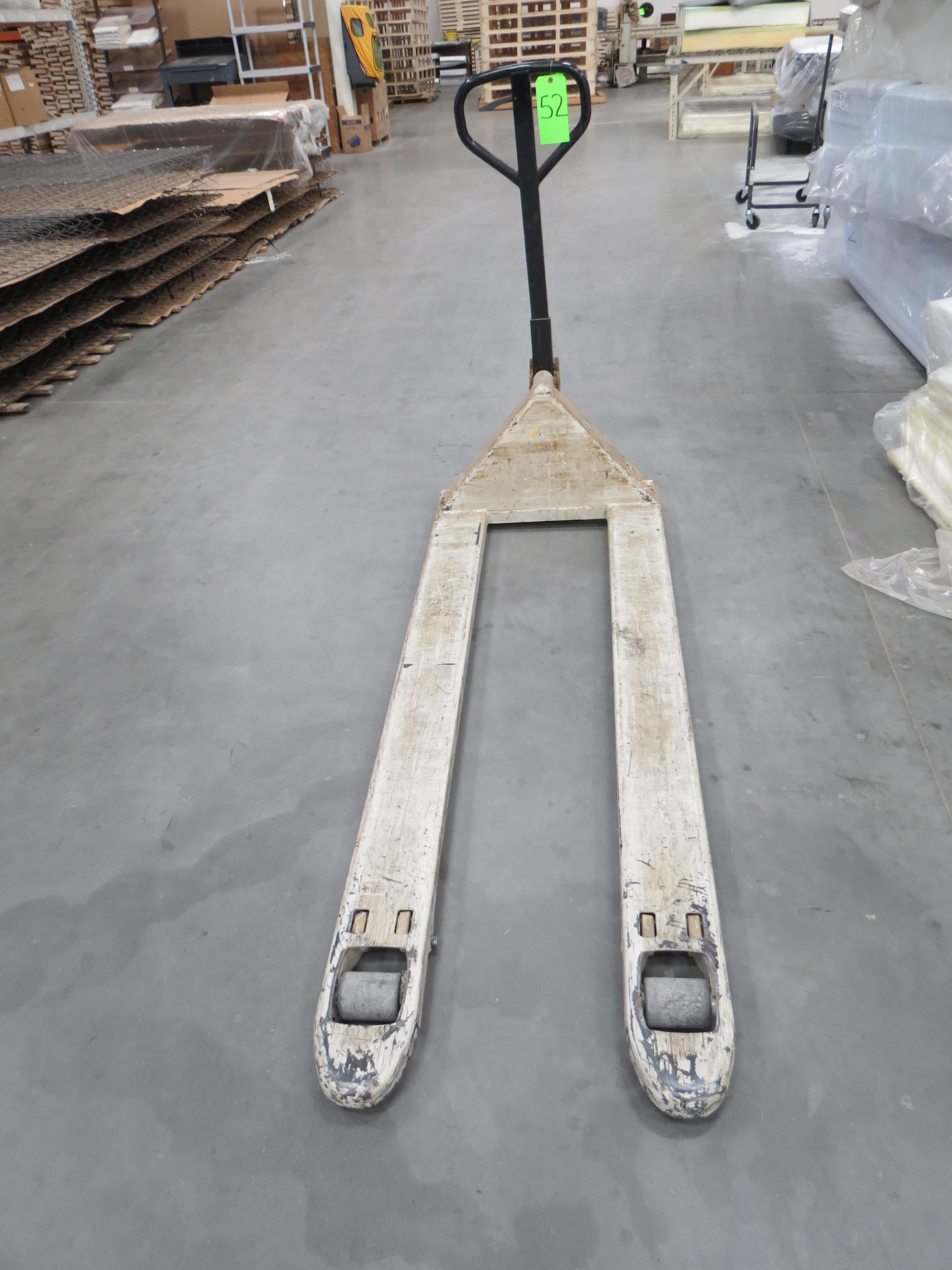 Crown Pallet Jack Approx. 5K Capacity with 6' Forks