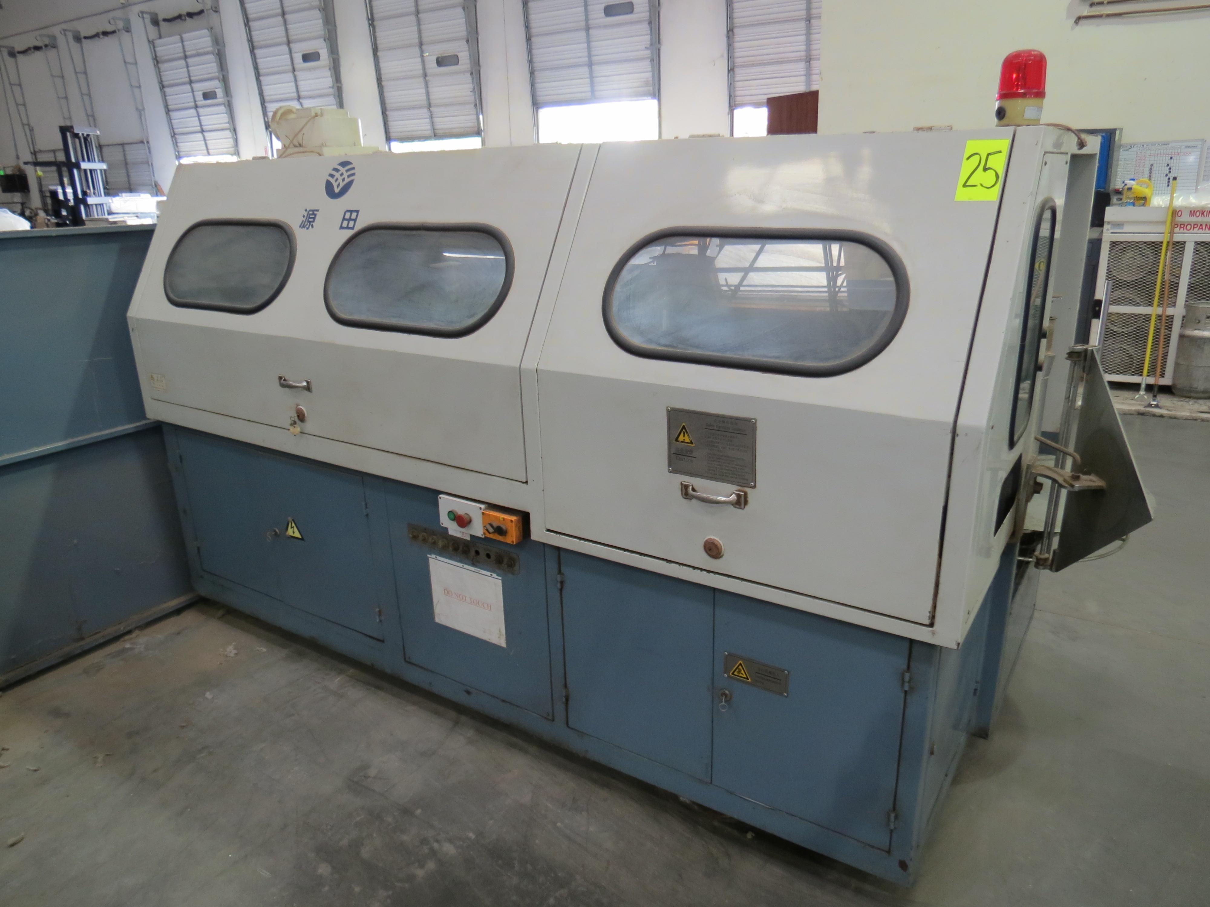 Foshan Yuatian Mattress Machine DZ-6AAutomatic Pocket Spring Machine, 220V, SN:0905005022