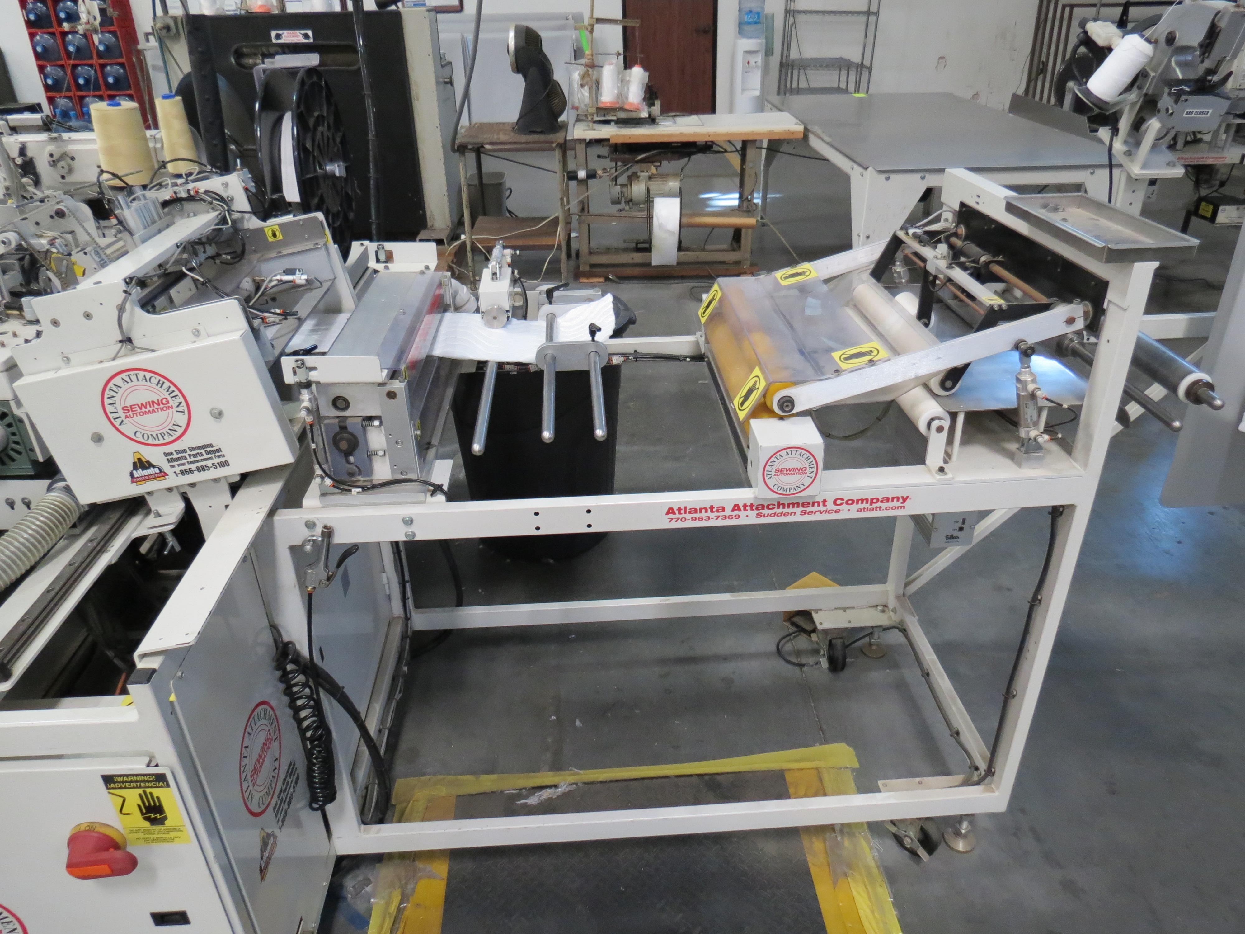 Atlanta Attachment Company, 4300BBorder/Attach Handles Sewing Machine, 220V, SN:209227071609, Juki - Image 9 of 11