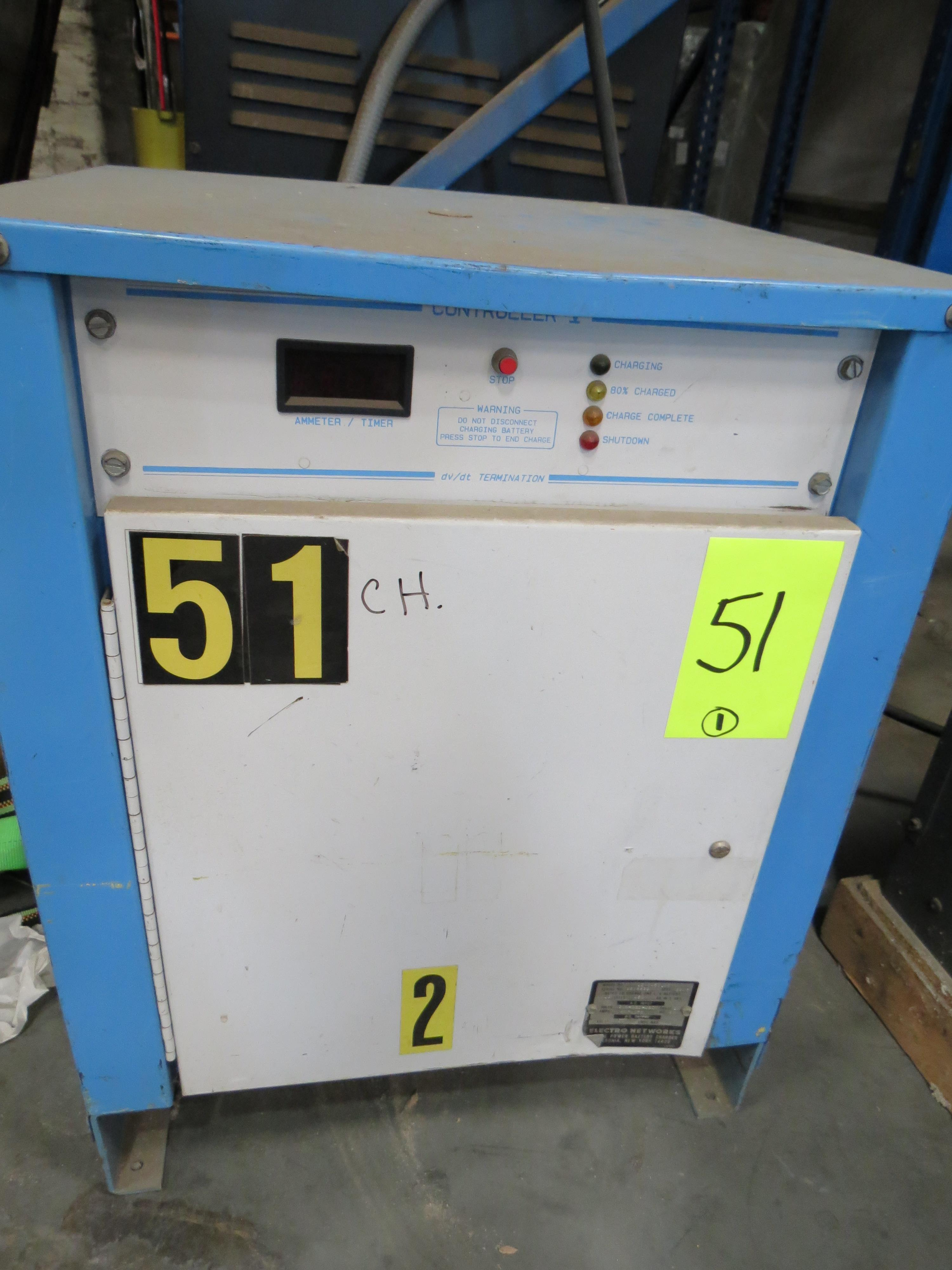 Electro Networks Forklift Battery Charger