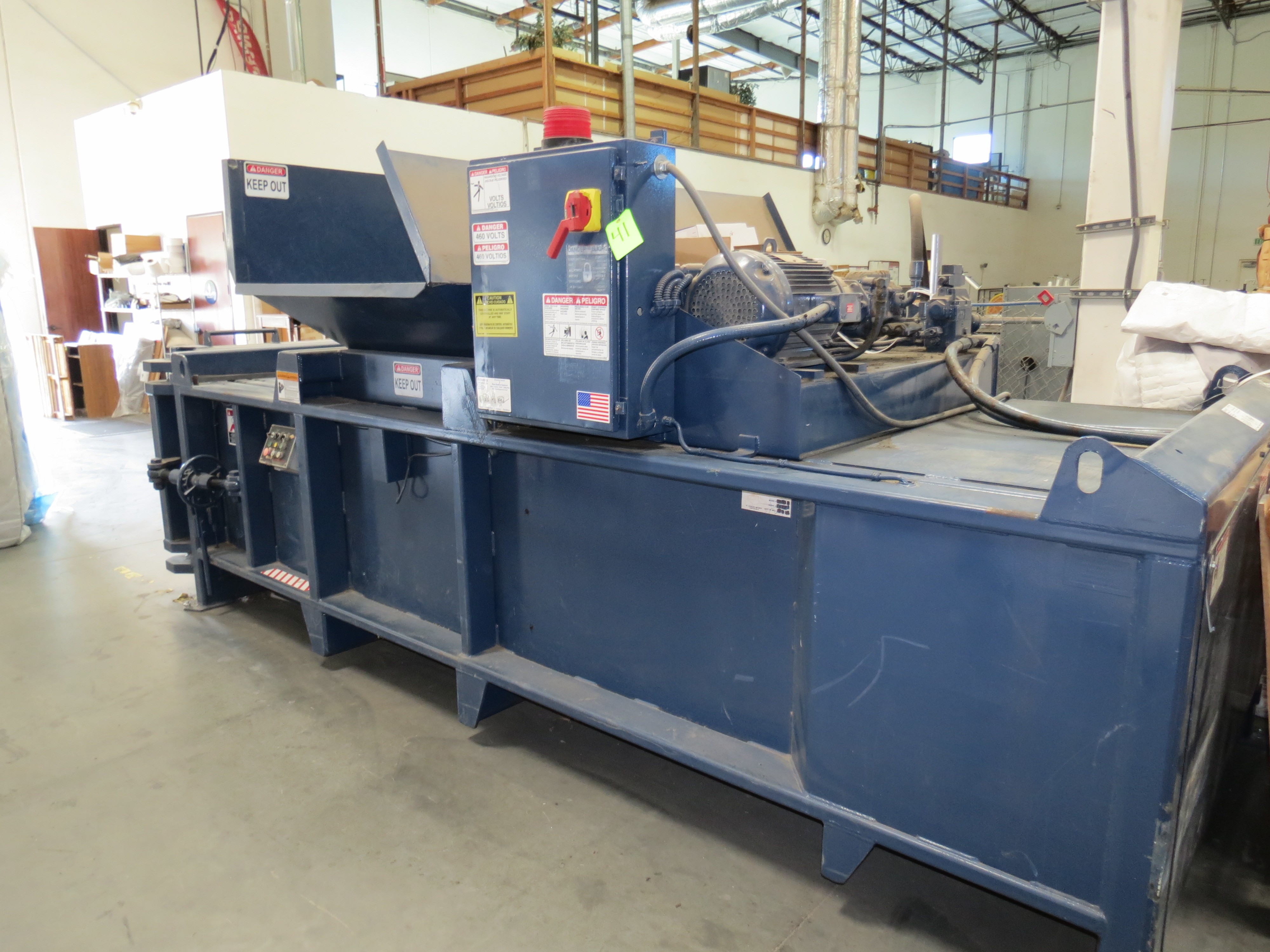 Excel EX602 Horizontal Baler 20HP, SN: EX2021 (Will Be Sold Subject to Confirmation) - Image 2 of 3