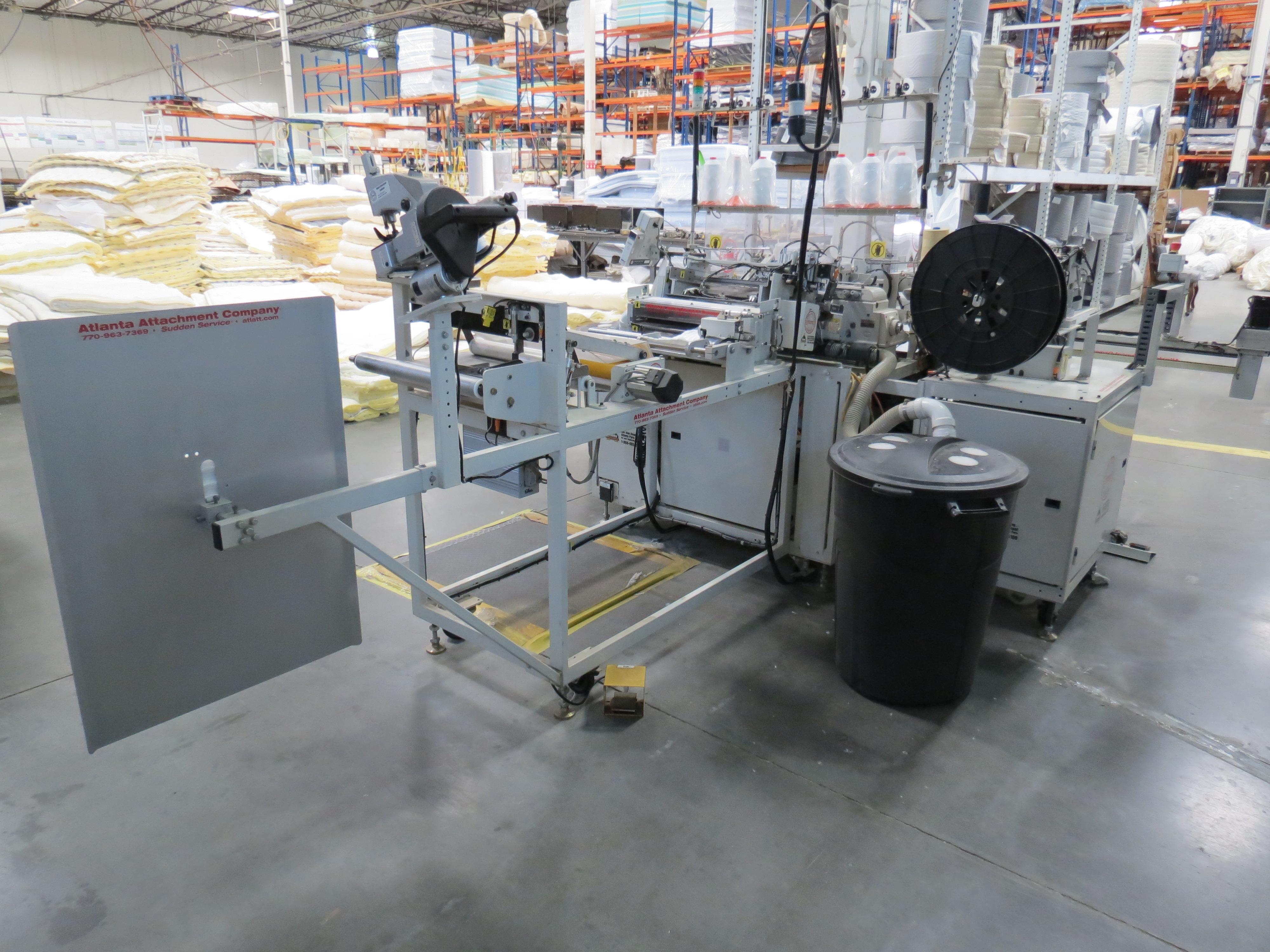 Atlanta Attachment Company, 4300BBorder/Attach Handles Sewing Machine, 220V, SN:209227071609, Juki - Image 4 of 11