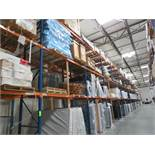 Sections of Pallet Racking Orange / Blue (Must be removed by 12/20/19)