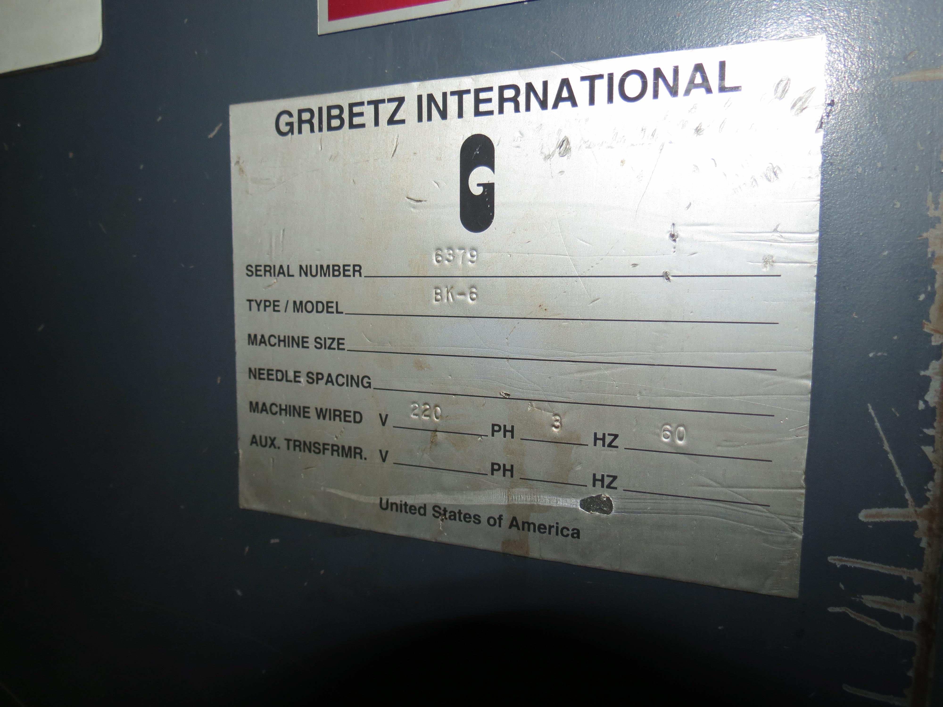Gribetz International BK-6 Screw Driven Bale Opener, 220V, SN:6379 - Image 4 of 4
