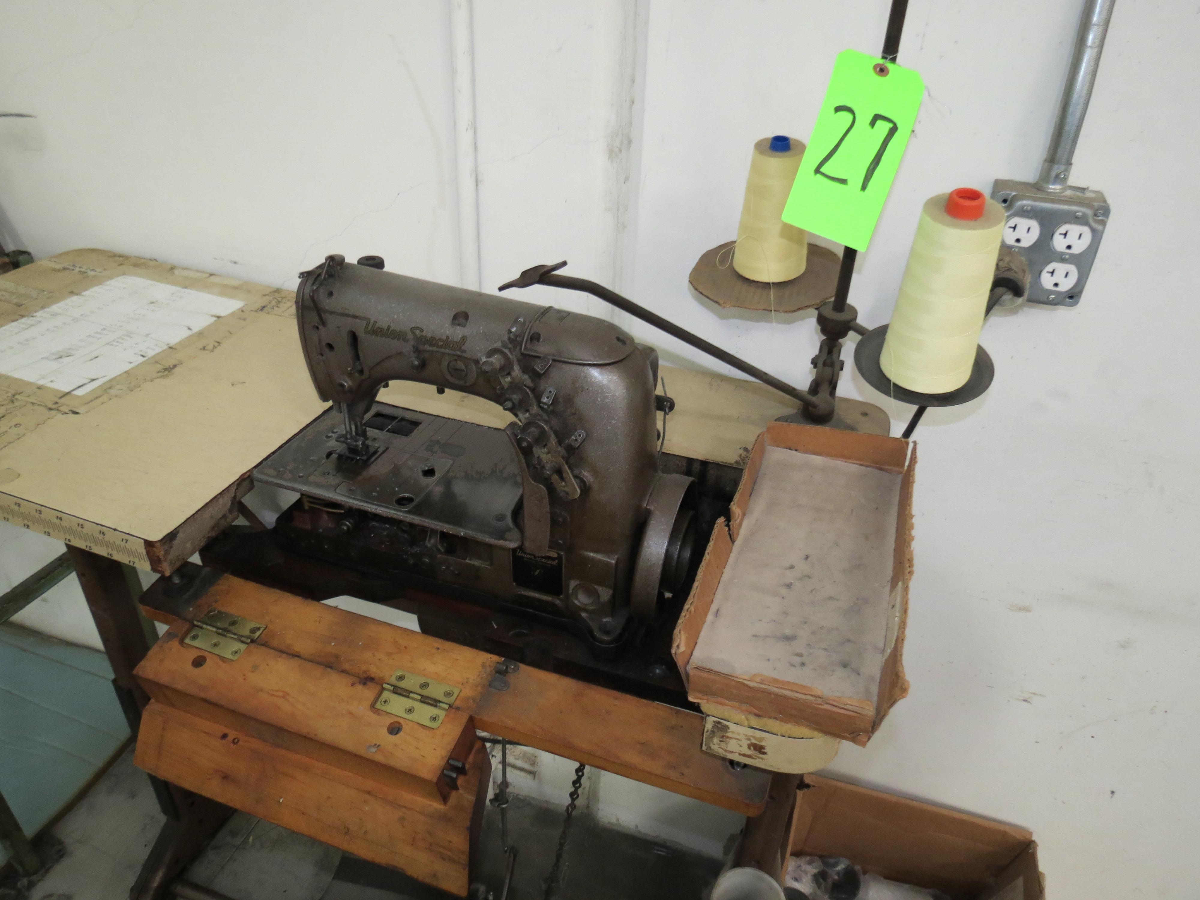 Union Special 51400 BEChain Stitch Sewing Machine, 110V