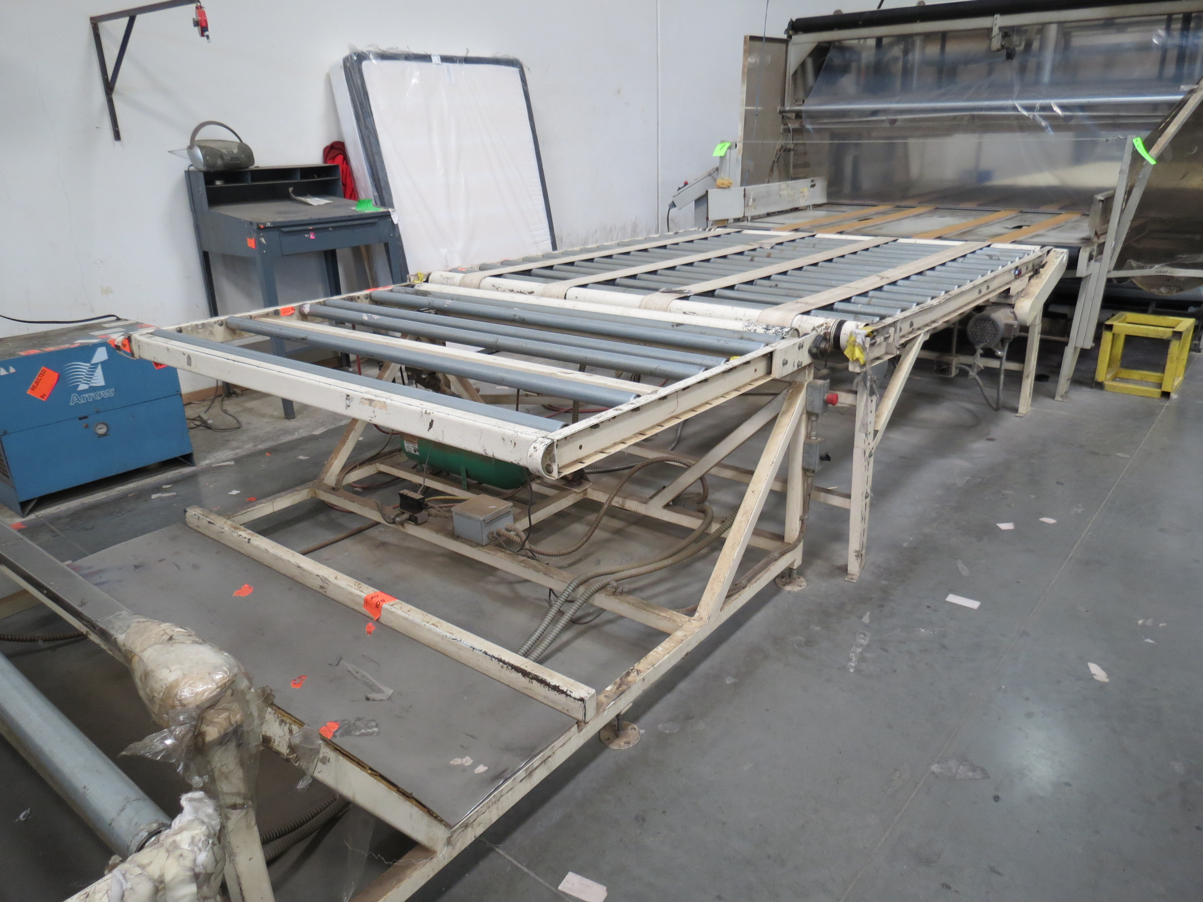 """Gribetz Bagging Machine W/ 10"""" infeed & 50' Outfeed Motorized Conveyor System - Image 3 of 9"""