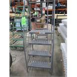 EGA Products 4-Step Mobile Warehouse Ladder