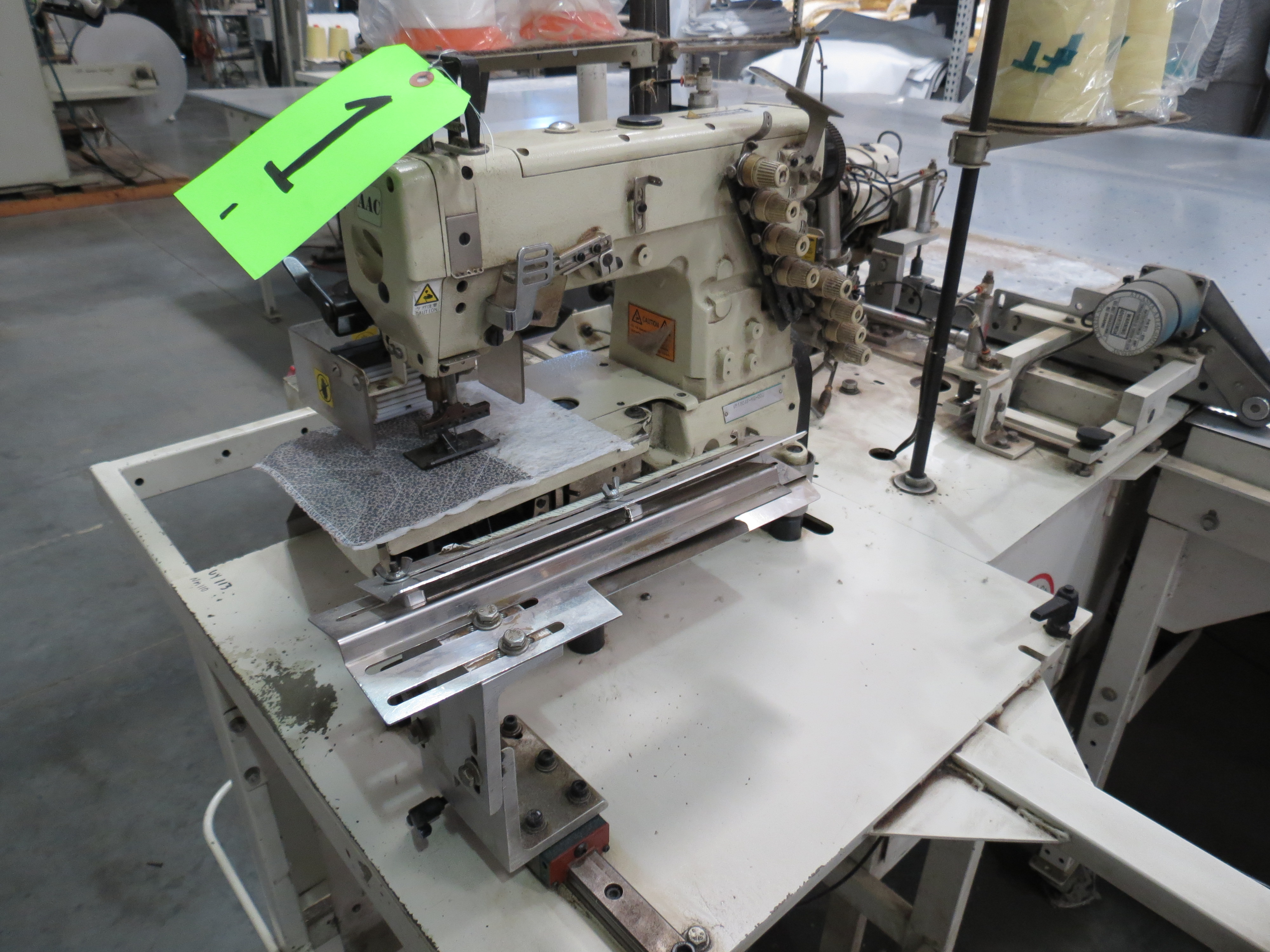 Atlanta Attachment Company VM1804P-NG-002 Gusset Sewing Machine with Flotation Table 8' x 13' - Image 3 of 8
