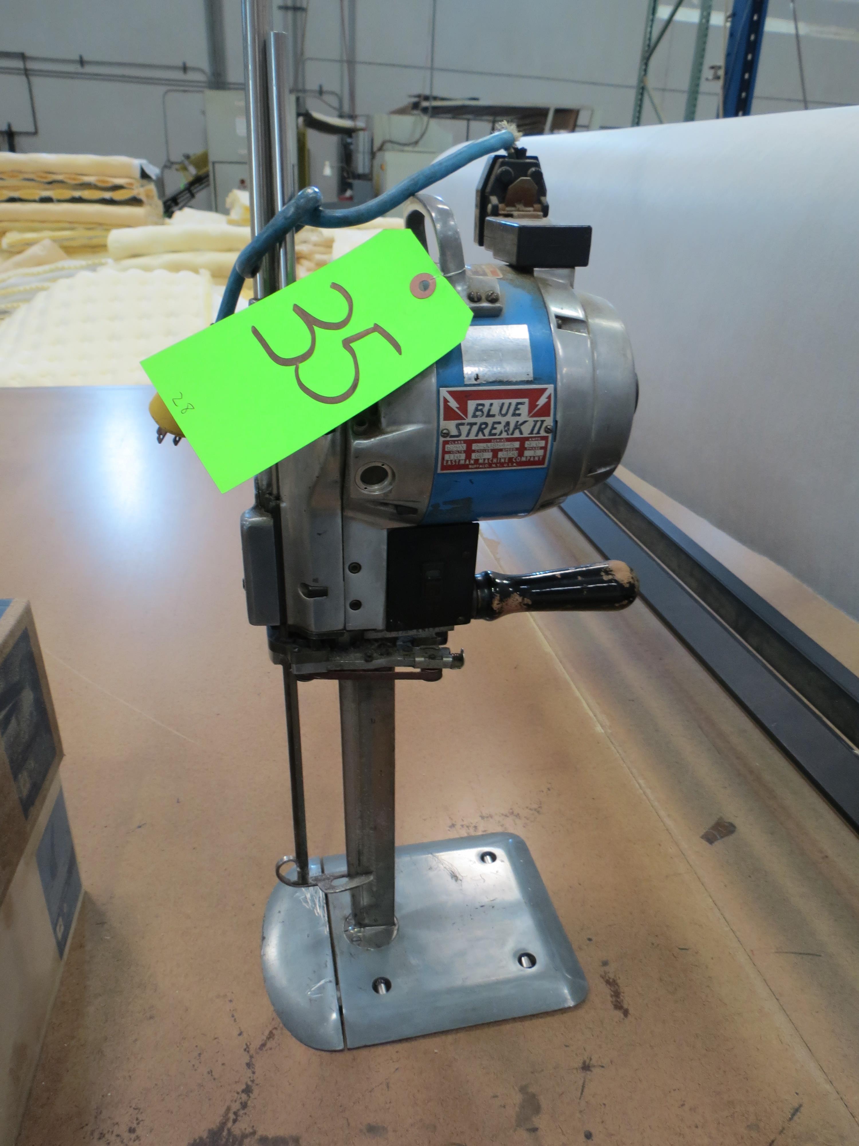 Eastman Blue Streak II 629X Hand Cutter Machine, 110V, SN:2-JJ854-5