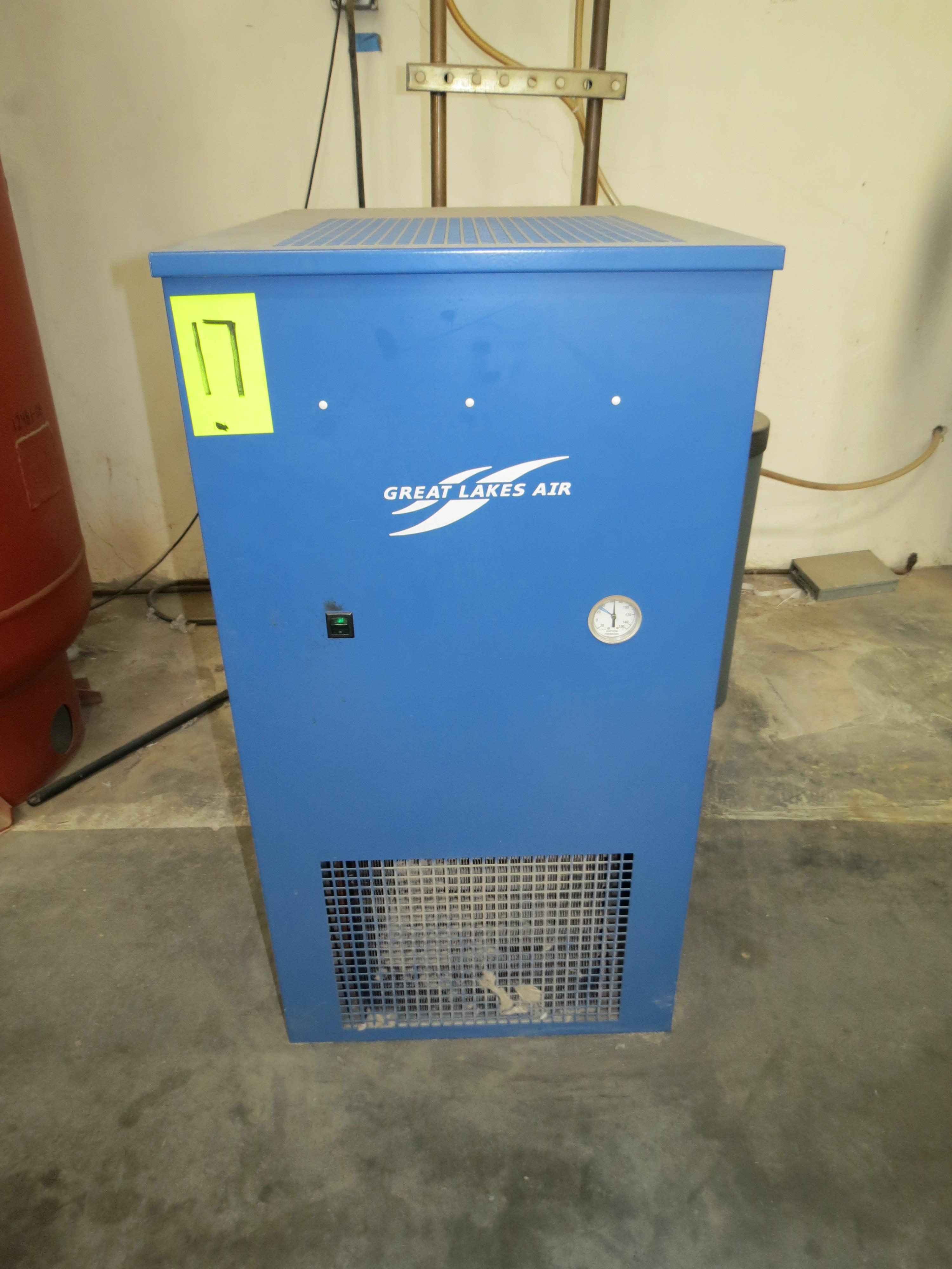 Great Lakes Air ERF-100A-116Air Dryer, 120V, SN:47345