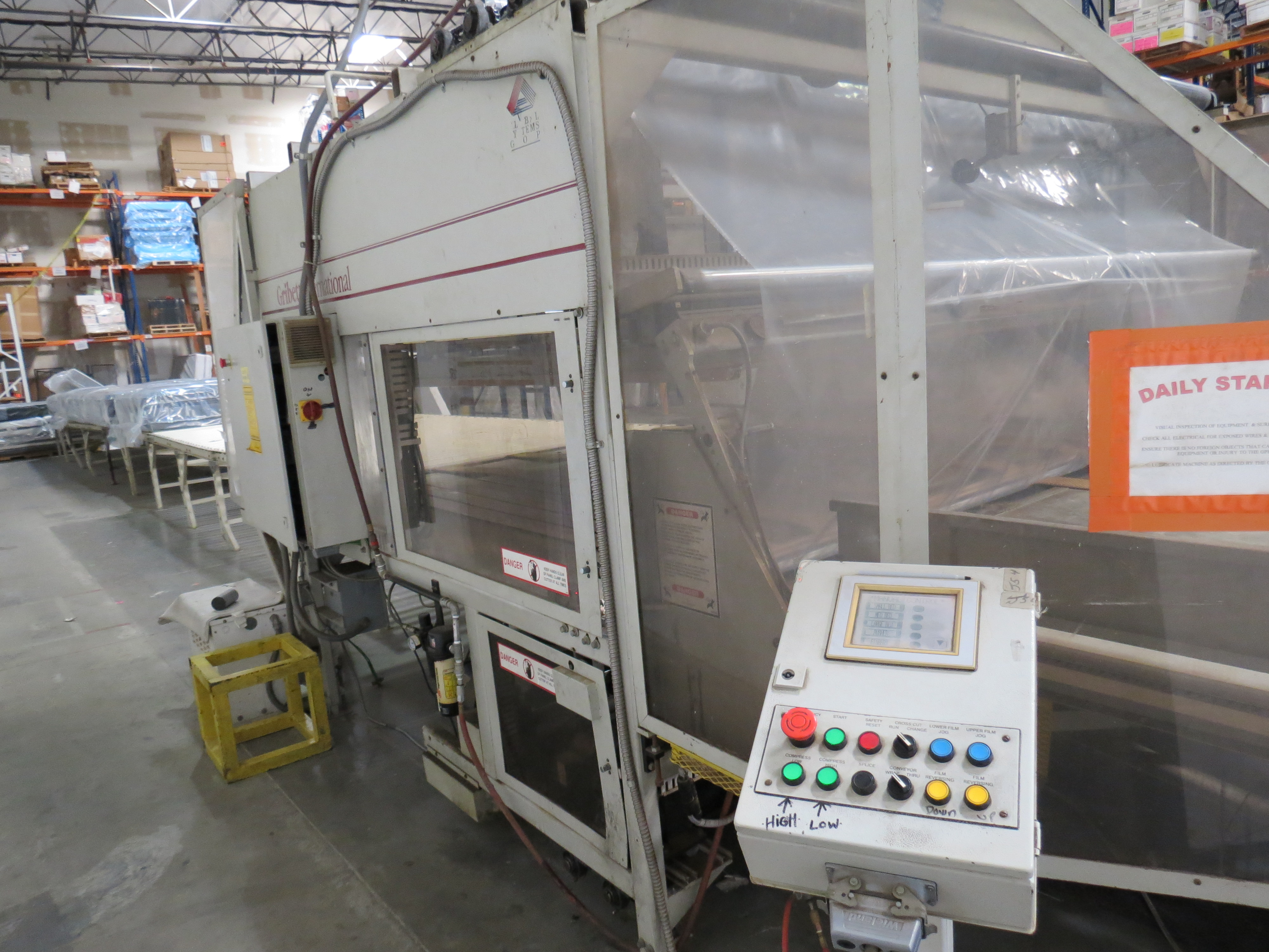 """Gribetz Bagging Machine W/ 10"""" infeed & 50' Outfeed Motorized Conveyor System - Image 6 of 9"""
