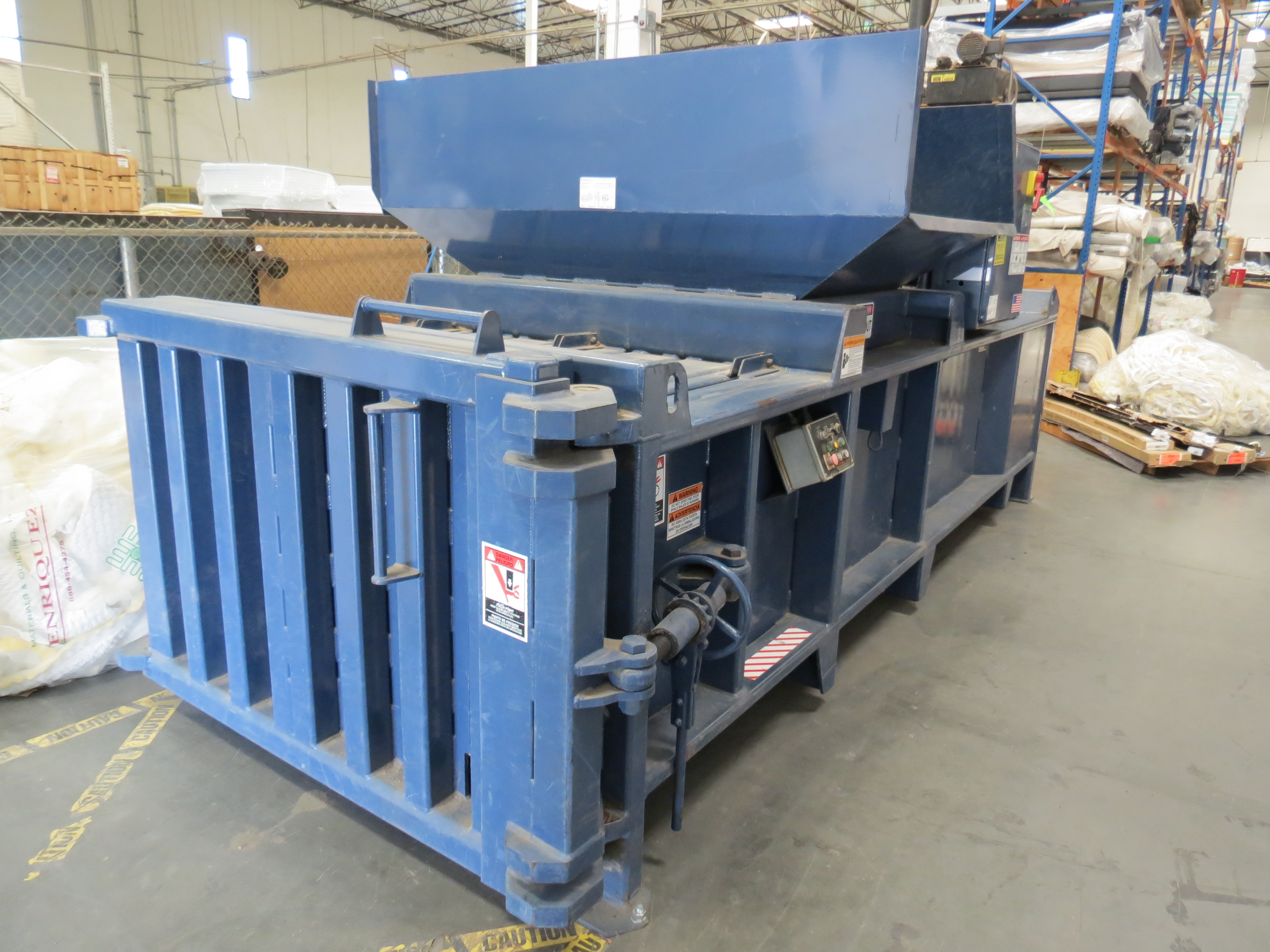 Excel EX602 Horizontal Baler 20HP, SN: EX2021 (Will Be Sold Subject to Confirmation) - Image 3 of 3