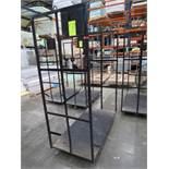 Black Flatbed Inventory Cart