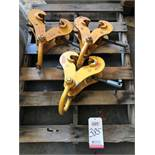 LOT - (3) GENERAL CLAMP BEAM CLAMPS