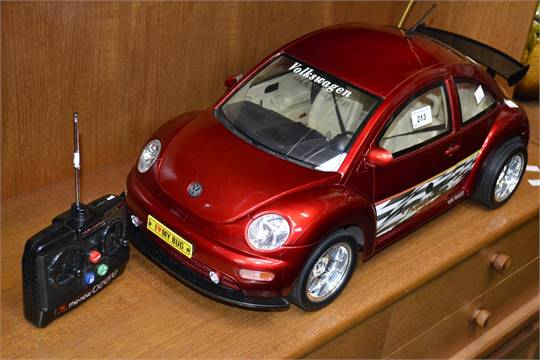 A New Bright Remote Control 1 6 Scale Model Vw Beetle With