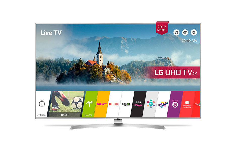 Lot 30036 - V Grade A LG 43 Inch ACTIVE HDR 4K ULTRA HD LED SMART TV WITH FREEVIEW HD & WEBOS 3.5 & WIFI