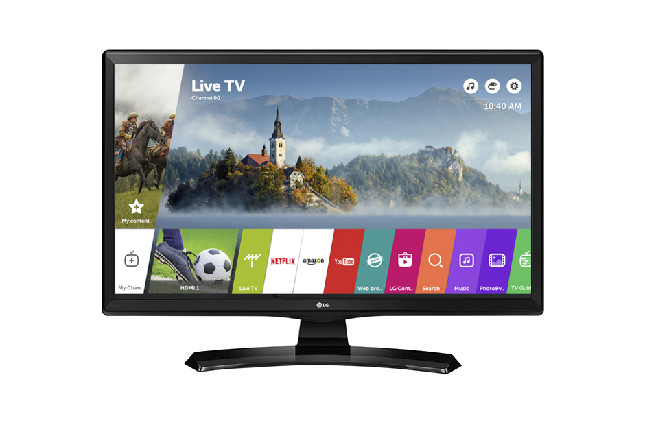 Lot 30053 - V Grade A LG 24 Inch HD READY LED SMART TV WITH FREEVIEW & WEBOS & WIFI 24MT49S
