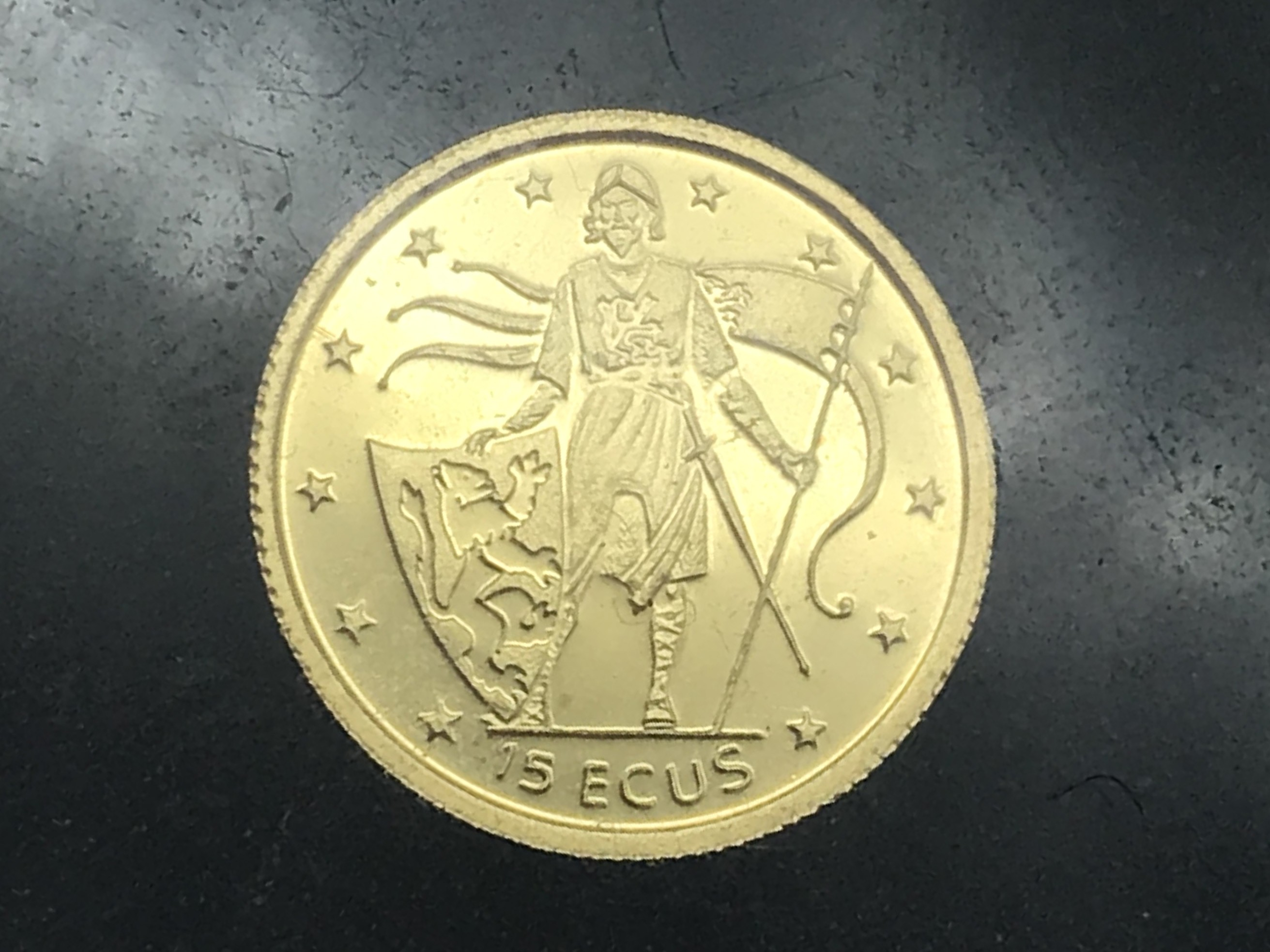 Lot 60 - SELECTION OF MINIATURE GOLD COINS