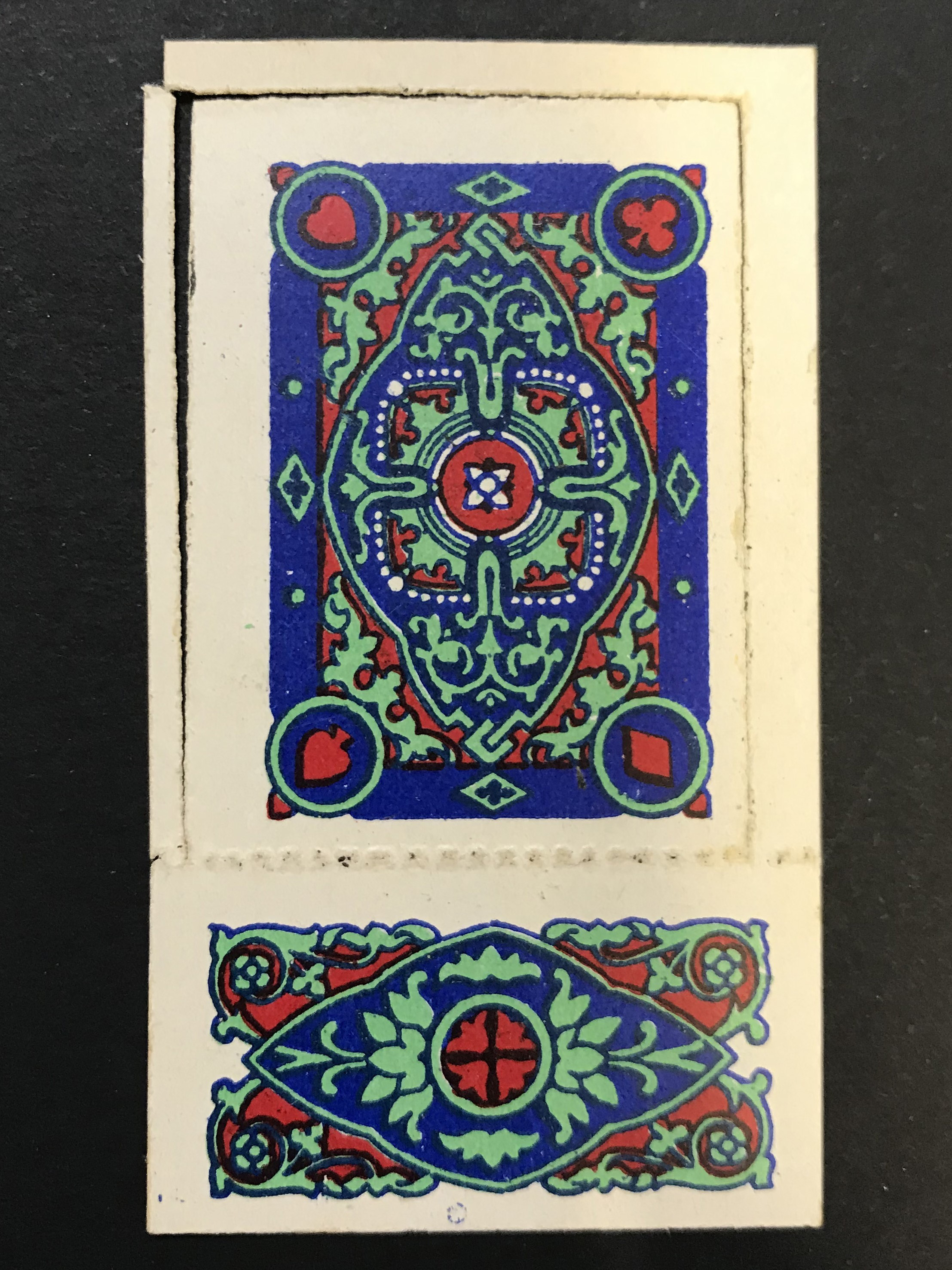 Lot 11 - MINIATURE PLAYING CARDS & DOMINOES (1929) BY CARRERAS COMPLETE SET OF 52 CARDS