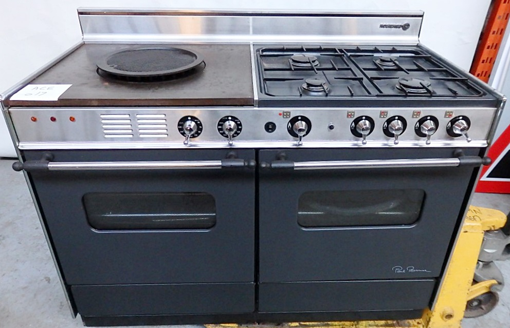 1 x rosi 232 res quot paul bocuse quot range cooker width 120cm dual fuel model 4040 db ace017 cl