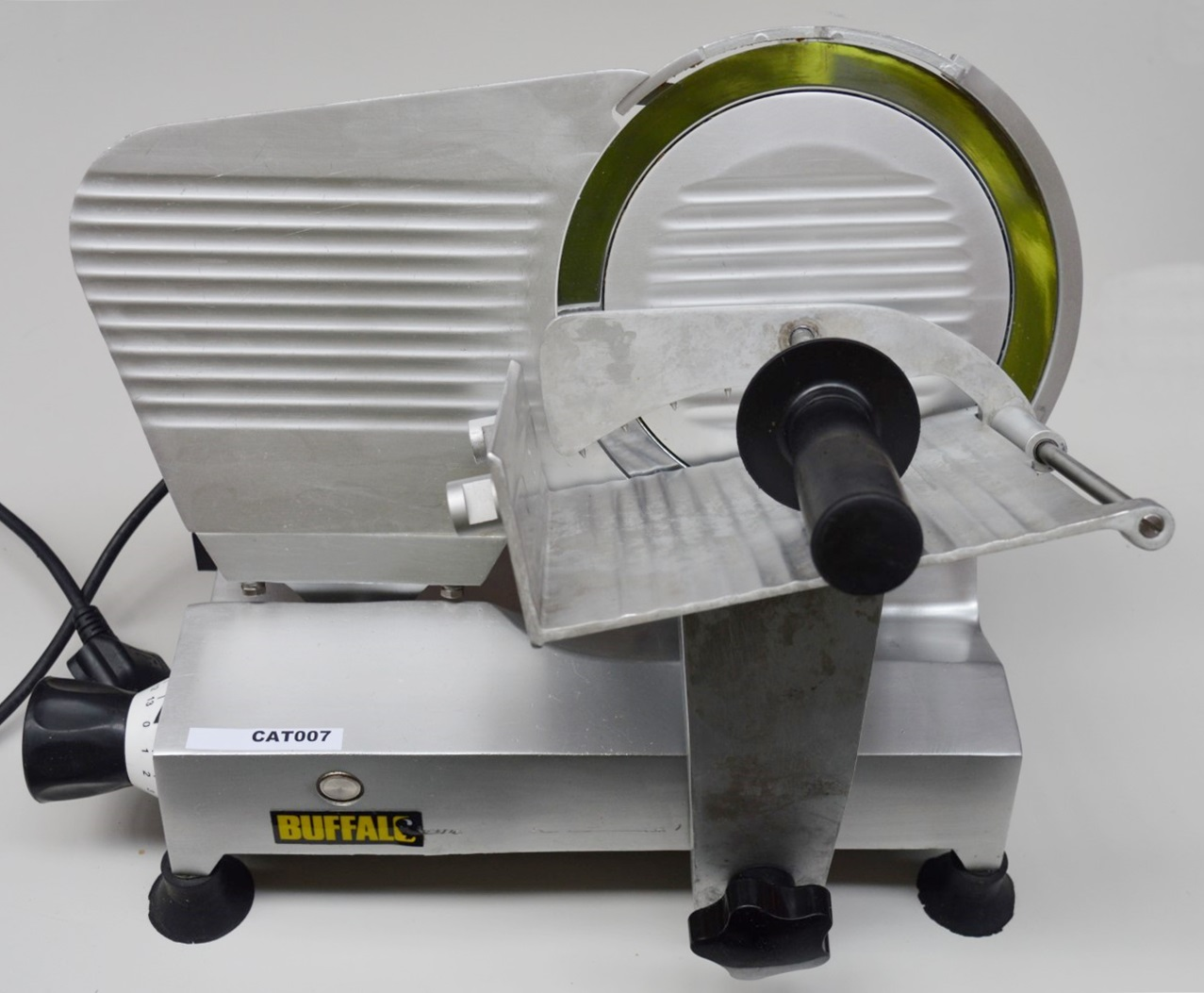1 X Buffalo Meat Slicer Features Include 120w Motor