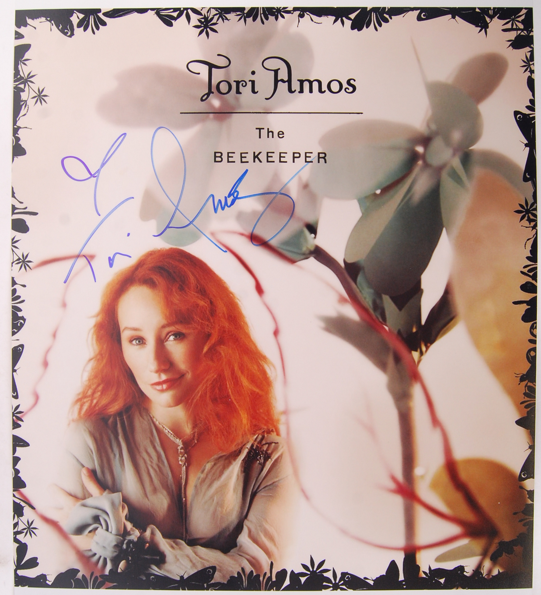 TORI AMOS - THE BEEKEEPER - RARE SIGNED PHOTOGRAPH