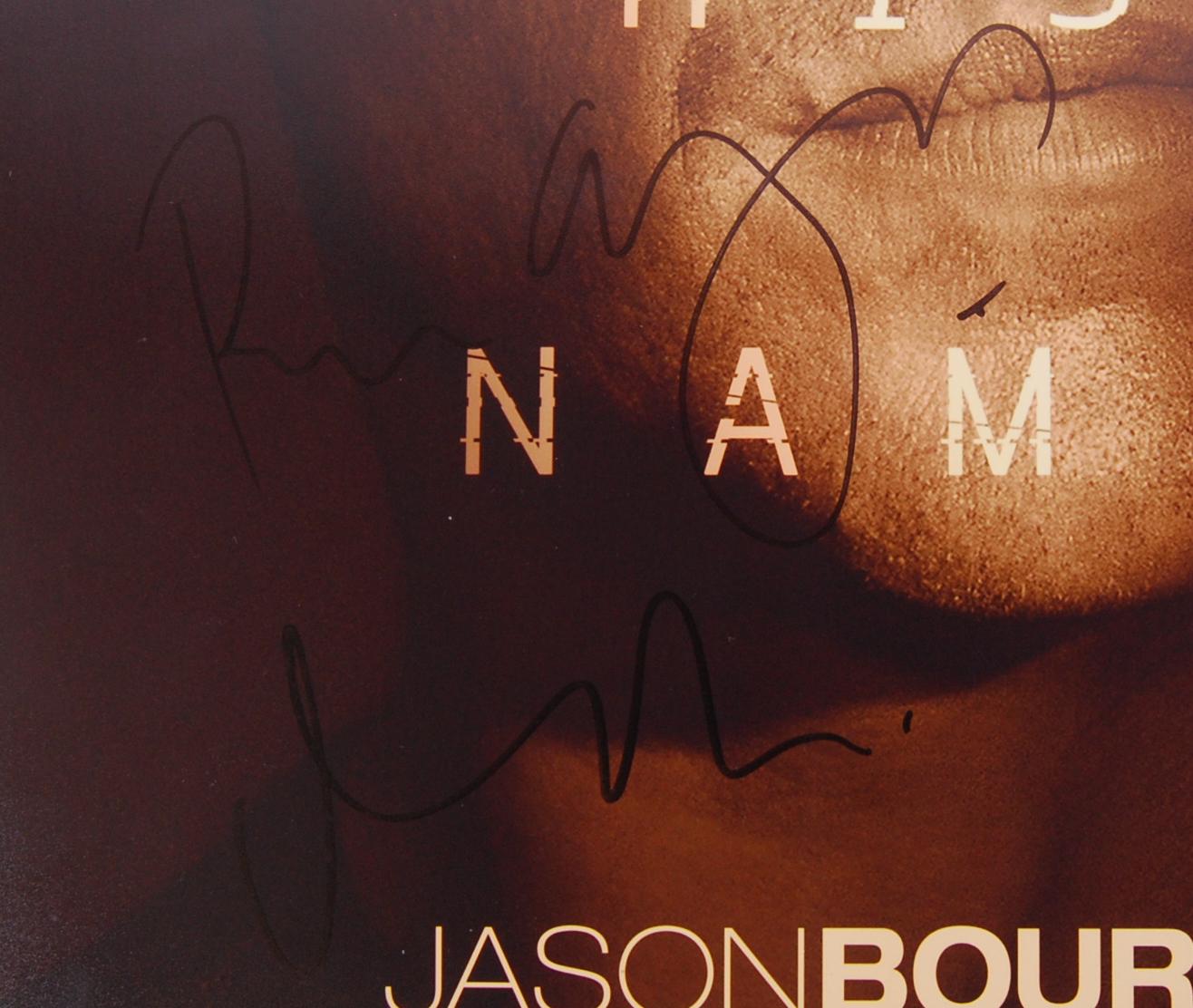 JASON BOURNE - MATT DAMON & DIRECTOR - SIGNED MOVI - Image 4 of 4