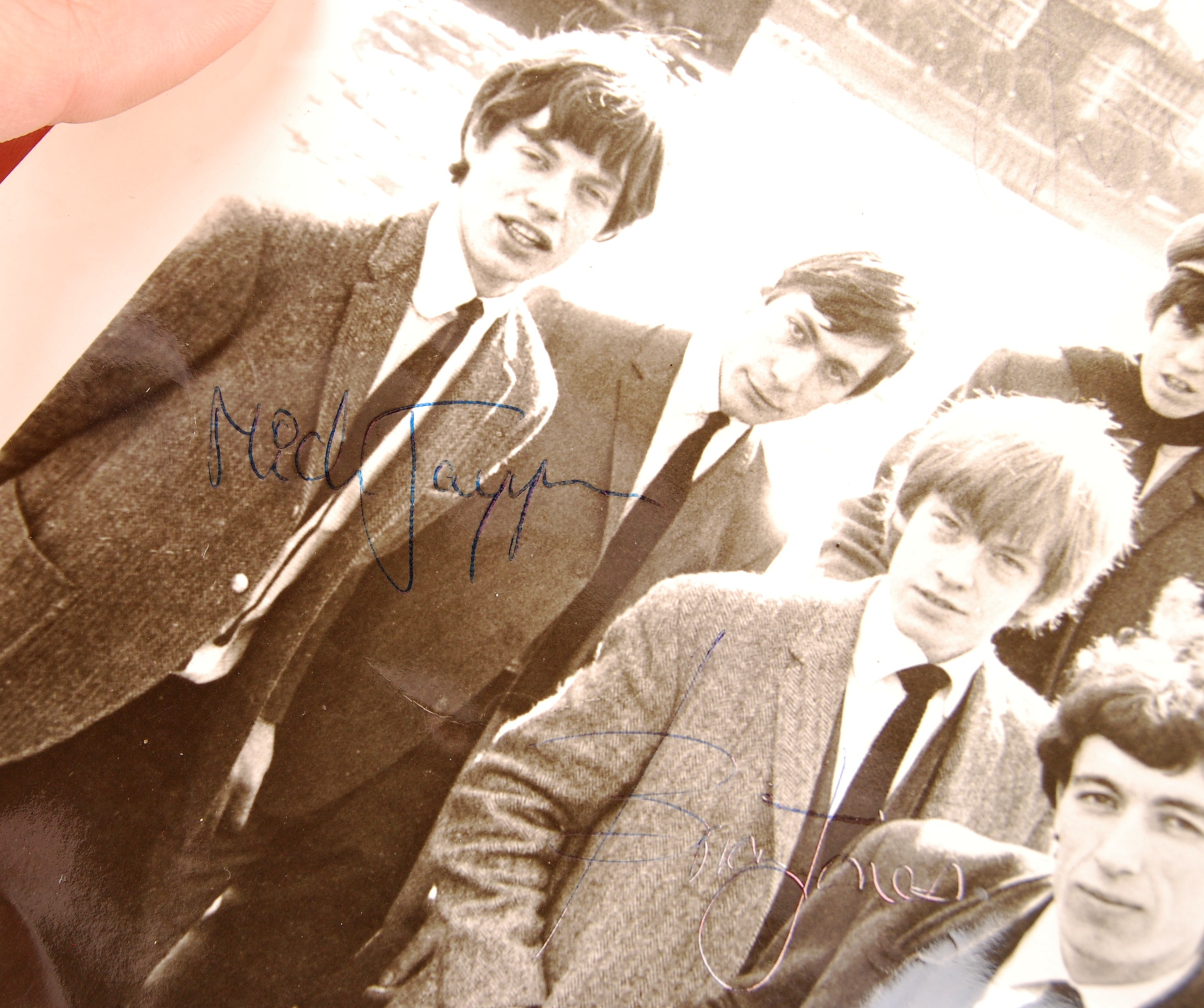 "RARE THE ROLLING STONES EARLY AUTOGRAPHED 8X10"" PH - Image 2 of 6"