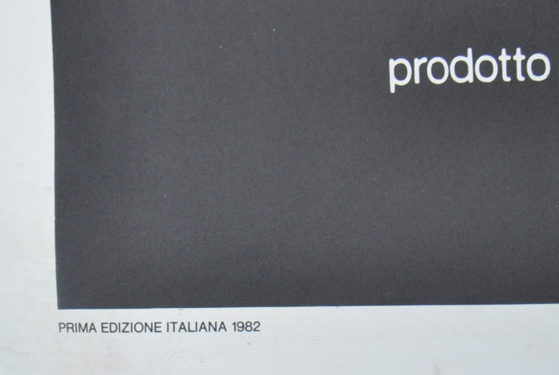 ORIGINAL 1980'S RAMBO FIRST BLOOD ITALIAN MOVIE PO - Image 4 of 5