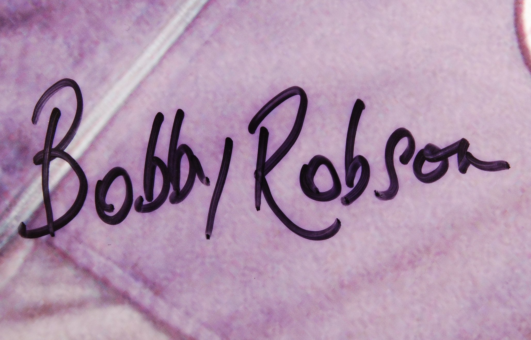 SIR BOBBY ROBSON - FOOTBALL MANAGER - LARGE AUTOGR - Image 2 of 5