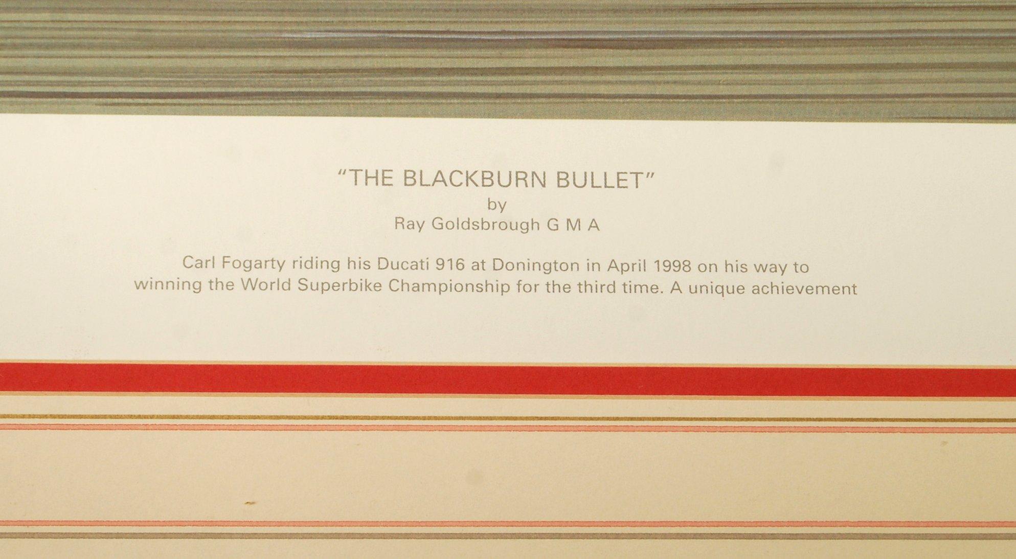 ' THE BLACKBURN BULLET ' BY R. GOLDBROUGH GMA AUTO - Image 4 of 6
