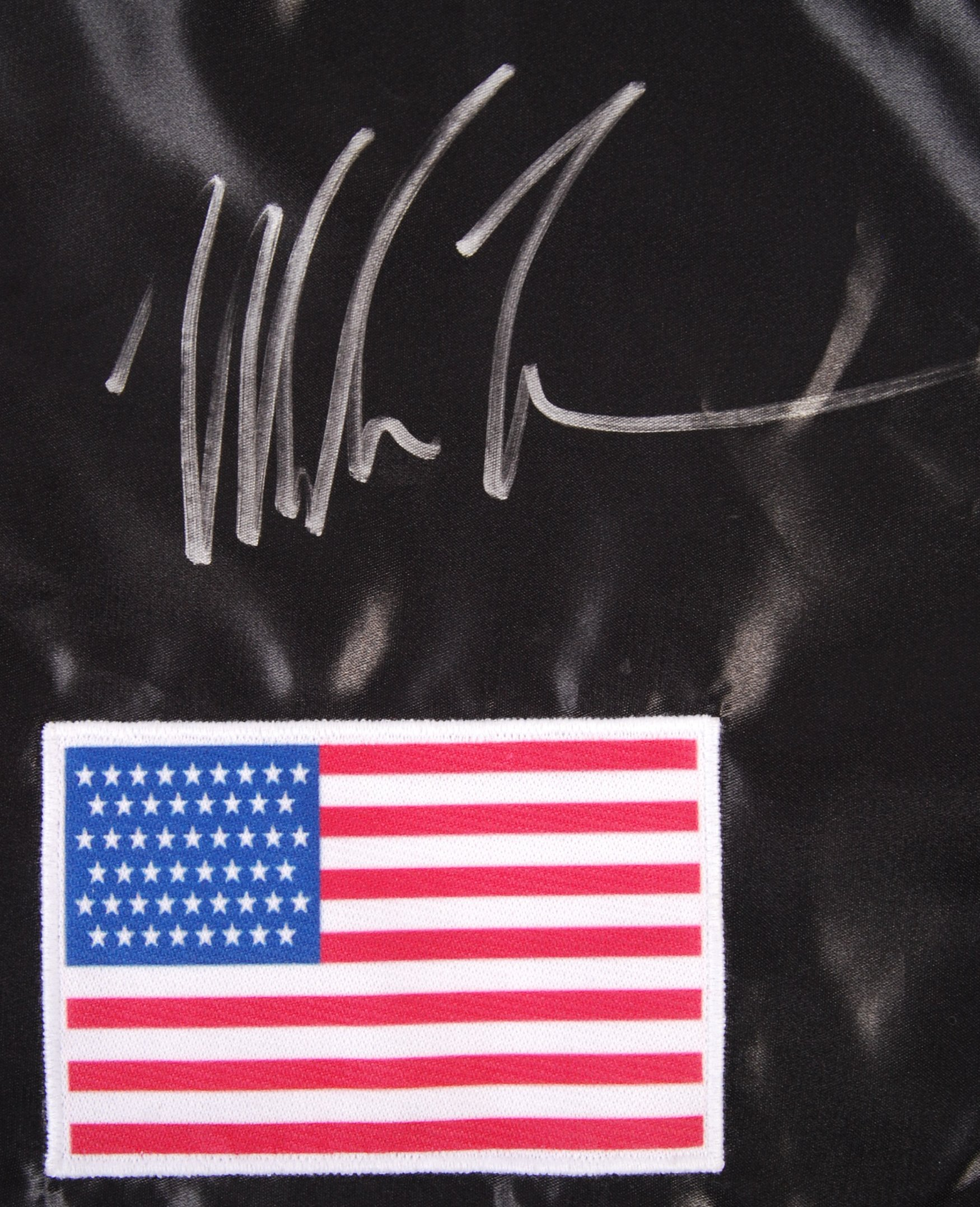 MIKE TYSON - INCREDIBLE SIGNED PAIR OF BOXING SHOR - Image 2 of 5