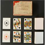 Dondorf, Frankfurt, Germany playing cards. The Game of Patience. Sold by A.N. Myers & Co, London.