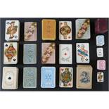 Dondorf, Frankfurt, Germany playing cards. Nine packs to include whist no's. 122, 150, 160 and
