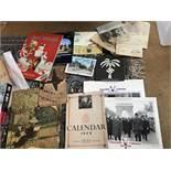 Churchill/wartime memorabilia inc Calenders etc...