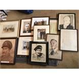 11 x Prints/ Photographs - Ex BP Museum