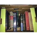 Boxed Lot of Books