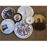 Collection of mainly Commemorative Churchill China