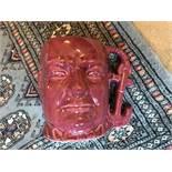 Pink Shorter Winston Churchill Toby Jug