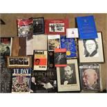 An Assortment of Churchill Books and memorabilia