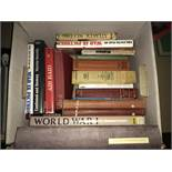 Boxed Lot of War History Books