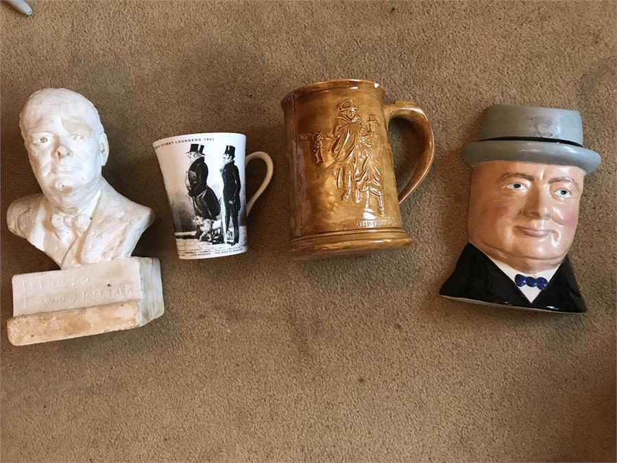 Lot 45 - Assorted Pottery to Include Royal Falcon ware Churchill