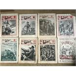 A collection of Vintage 'The War Illustrated' Magazines.