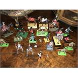 Collection of toys including Britains deetail