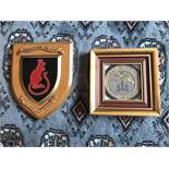 Embroiled blazer badge and Shield.