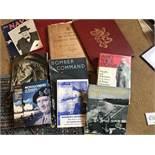 An Assortment of Winston Churchill related books.